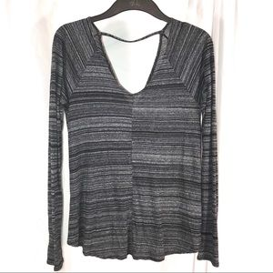 Abercrombie & Fitch Gray Marled Top, Size XS